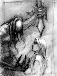 Undead Warriors Sketch 3 by PsychoAnn