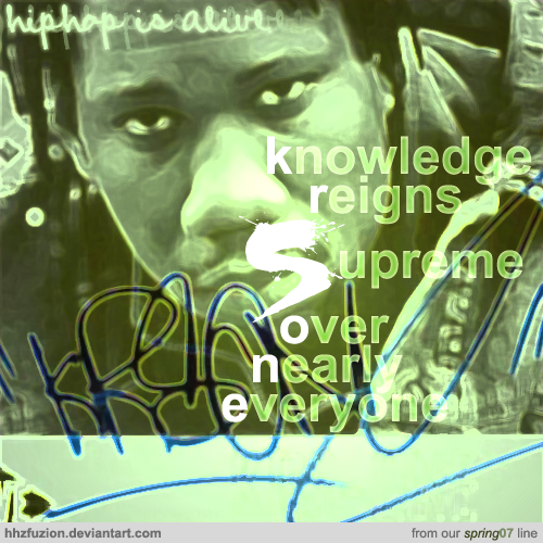 krs-one: 'hip hop is alive.' by hhzfuzion