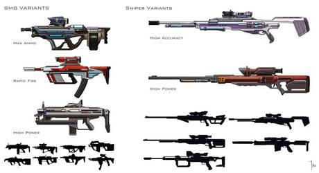 Borderlands Gun Design