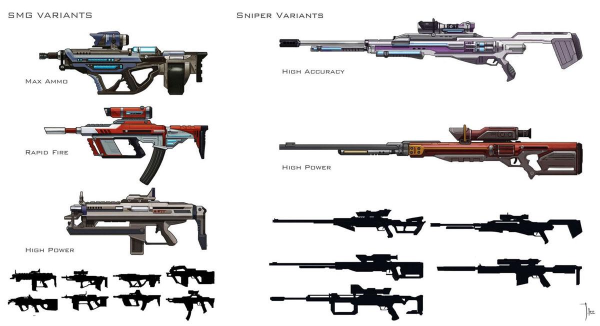 machine gun parts borderlands