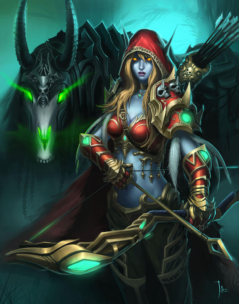 Sylvanas Windrunner by LeeJJ