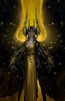Magic Flute: The Night Queen Closeup by LeeJJ
