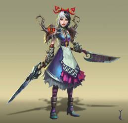 Wonderland Warrior by LeeJJ