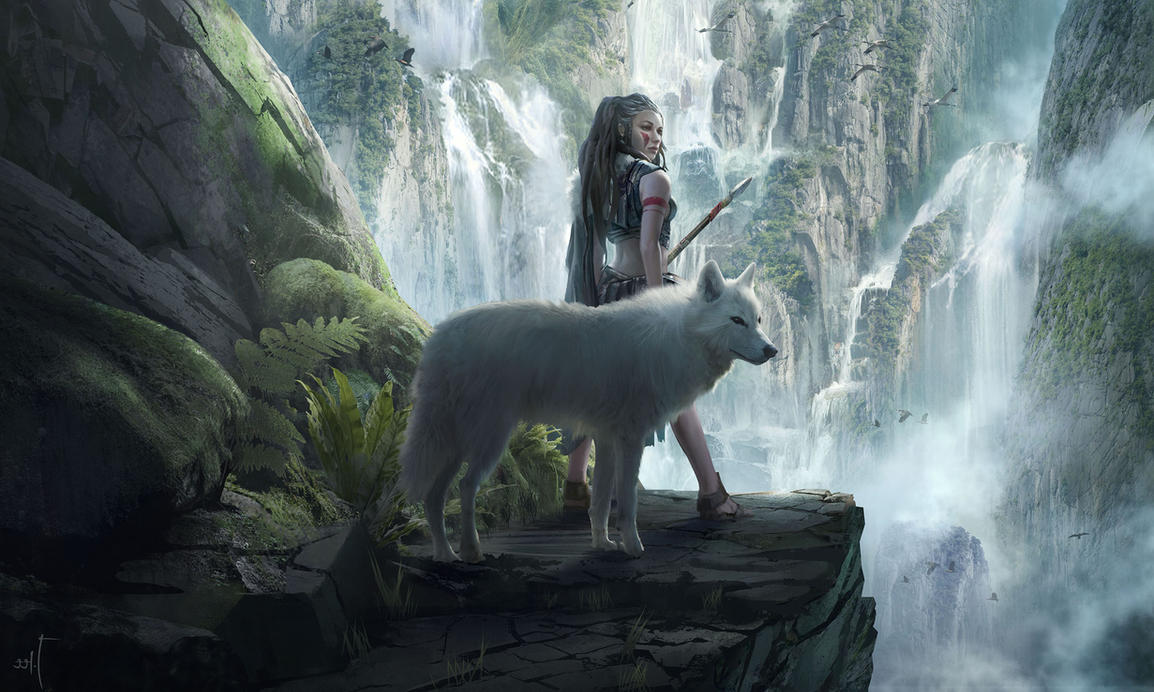 картинки волков фэнтези с крыльями