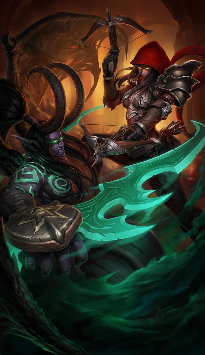 Battle of the Demon Hunters by LeeJJ