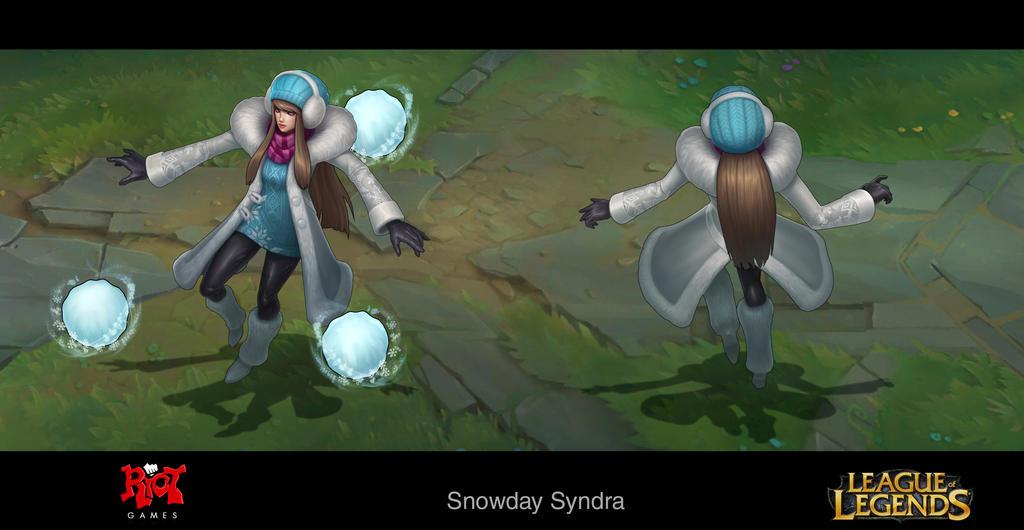 SnowDay Syndra by LeeJJ