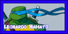Leonardo Hamato Stamp by Moonspirit10