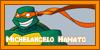 Michelangelo Hamato Stamp by Moonspirit10