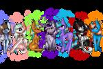 Friendies! by Luxyna-Moon