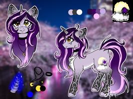 (RS) Moonlight - Main OC by Luxyna-Moon
