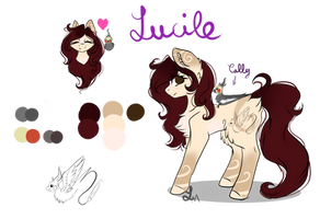 (RS) Lucile - Ponysona by Luxyna-Moon