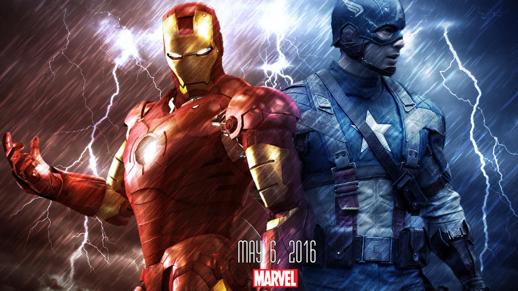 Iron Man Vs Captain America Wallpaper By JustTutorialZ On