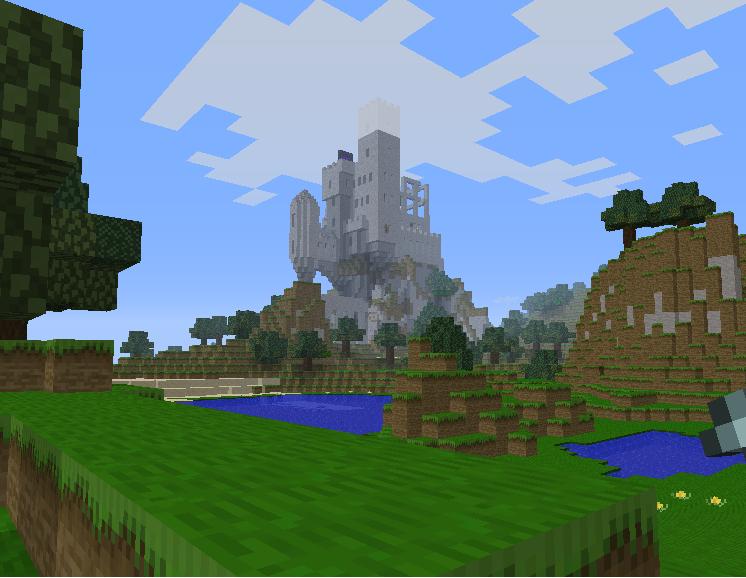 Castlevania Minecraft Castle 1 By Cotton2ply