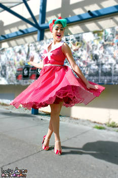 Tina Tokyo of Bettie Page Clothing