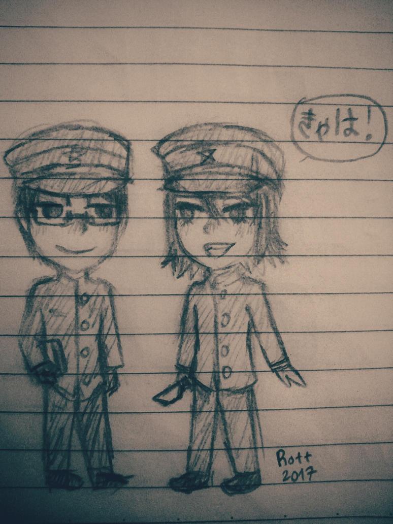 My first JaiZera drawing by Rott000
