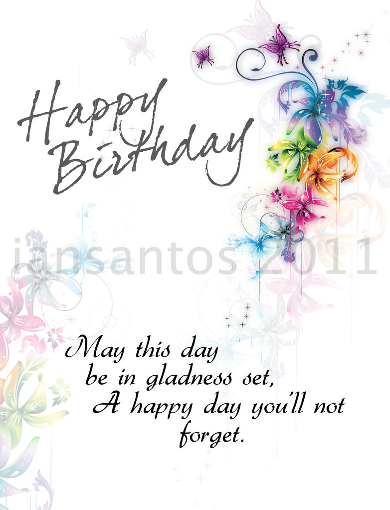 Birthday card by santosian on deviantart birthday card by santosian bookmarktalkfo Choice Image