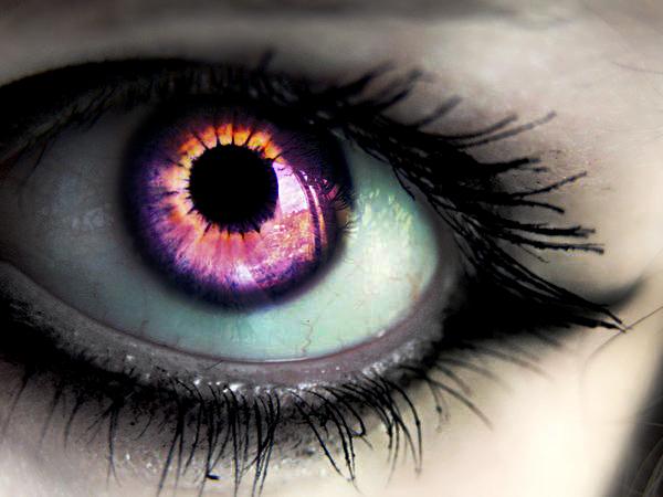 evil eye purple by jellibobs on DeviantArt