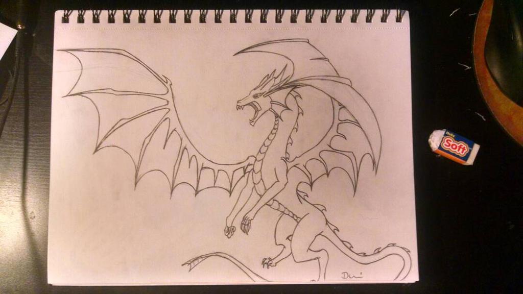 Dragon by darkhearteddon250