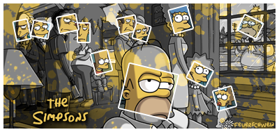 The Simpsons by Feuerschwein