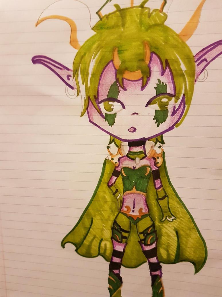 Doodle sketch by Agentnorth1
