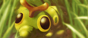 Caterpie by Love-Posty