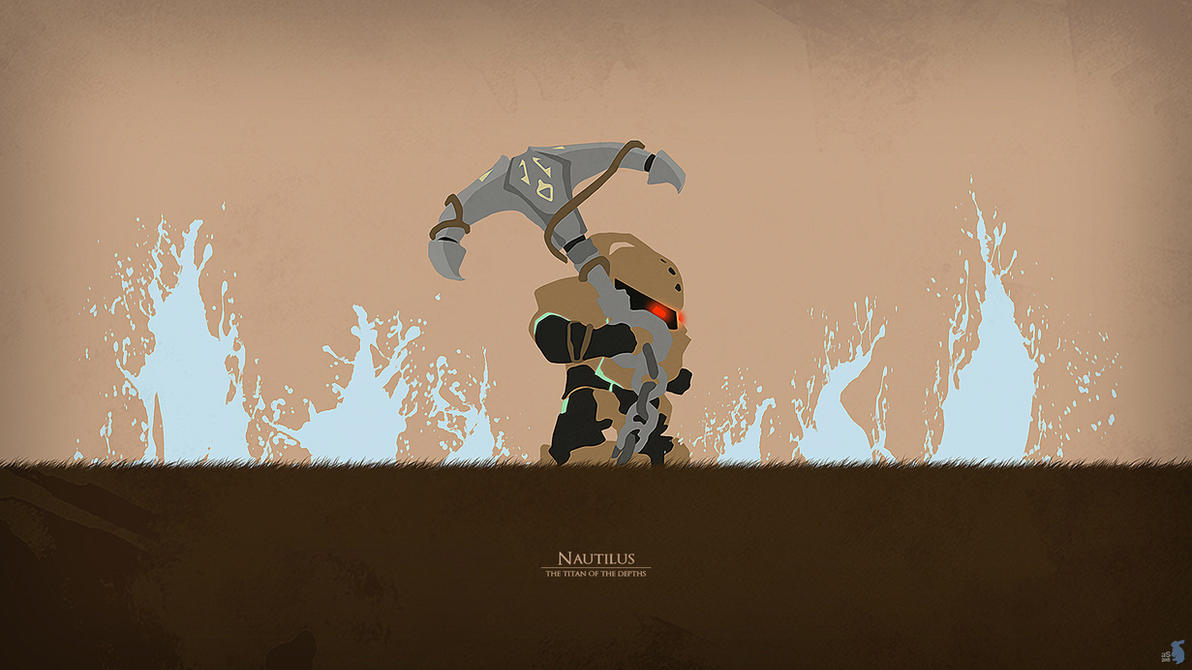 Bard Minimalistic League Of Legends Wallpapers League Of: Nautilus By ASkyblueBunny On DeviantArt