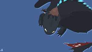 Toothless by ASkyblueBunny