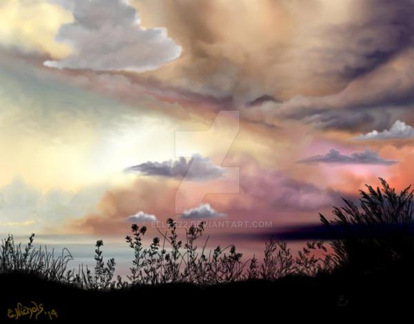 Buttercream Skies by E by Ellee22