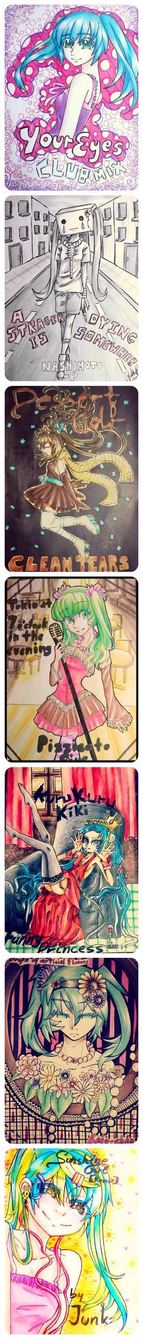 Hatsune Miku-May songs challenge!
