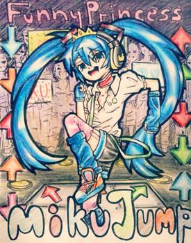 Funny Princess-Miku Jump-Hatsune Miku