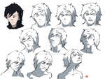 AnK Abriged 1: Riki's Expressions by Thean-chan