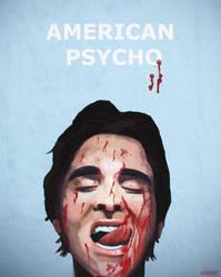 American Psycho Poster (Christian Bale) by Elayez