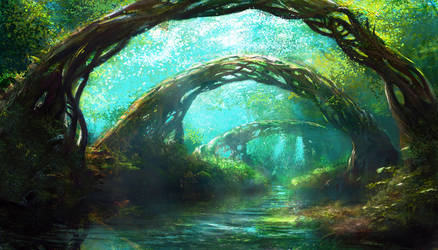 Forest 2 by Edli