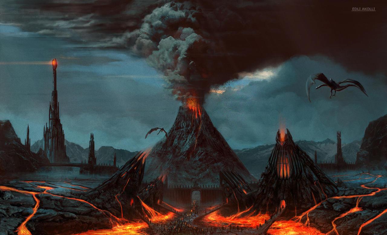Mordor by Edli