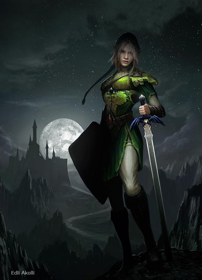 Female Link by Edli