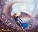 Fleeing Angel - Moonga
