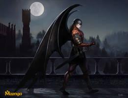 Demon Sentinel - Moonga by Edli