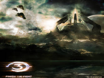 Halo-wallpaper by Edli