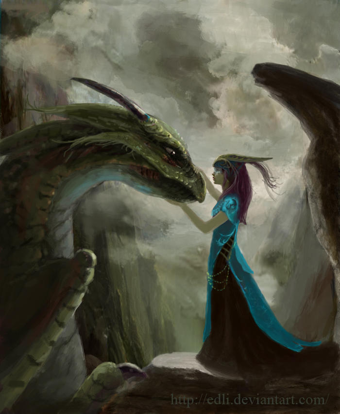Her only friend by Edli
