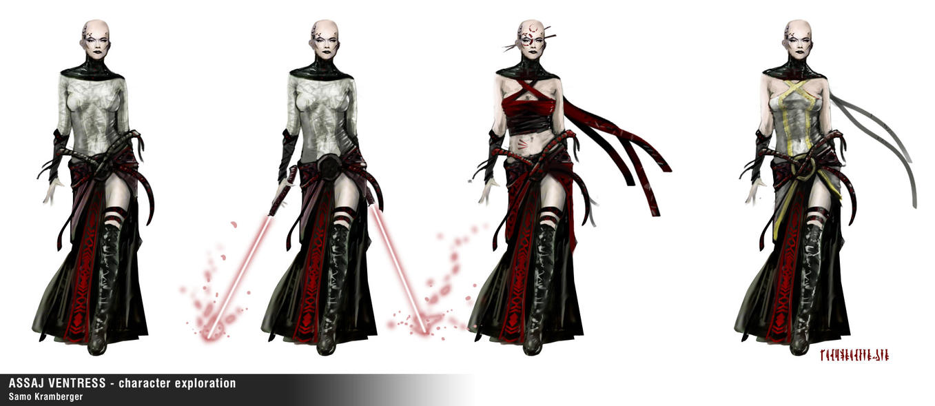 Asajj Ventress - Star Wars - f by 123samo