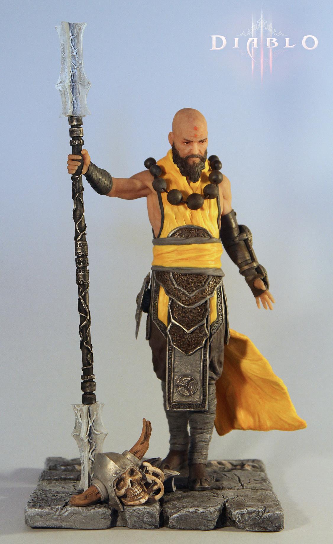 Diablo III - Monk by 123samo