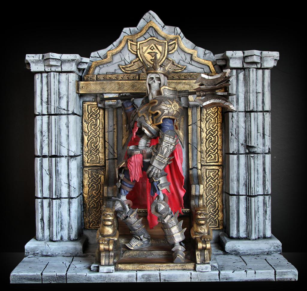 Diablo III - Skeleton King by 123samo