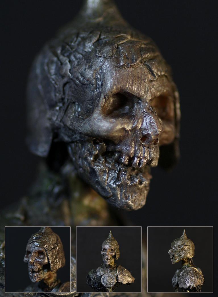 Head-sketch 1 Dec 2014 by 123samo