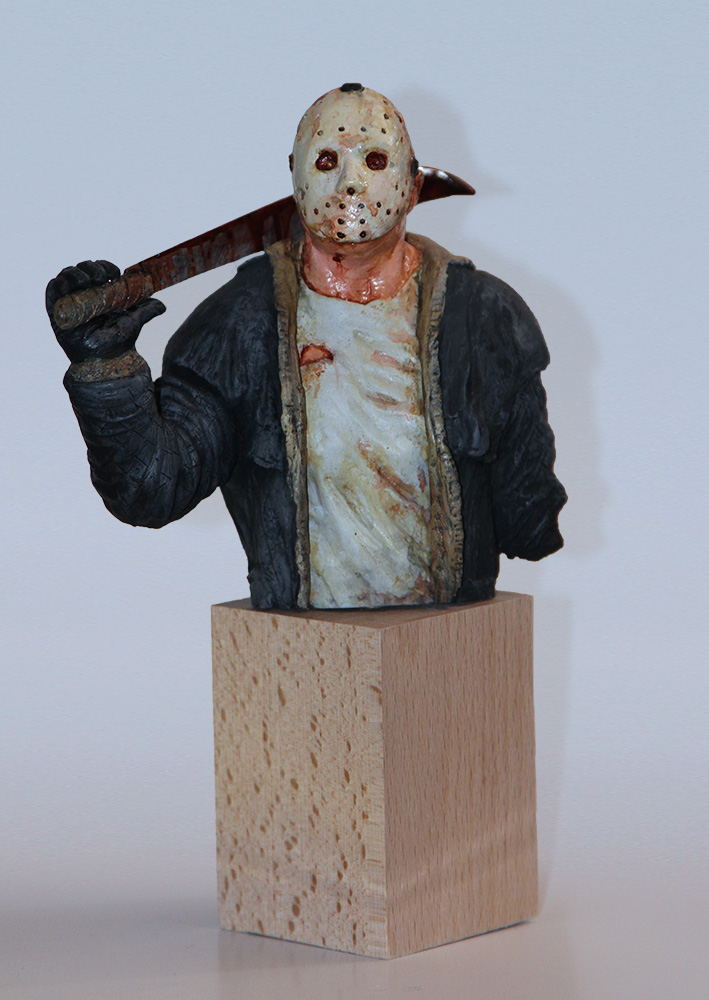 Jason-bust by 123samo
