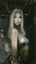 Cyber Girl by 123samo