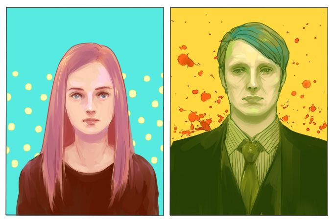 Hannibal and Abigail by mformadness
