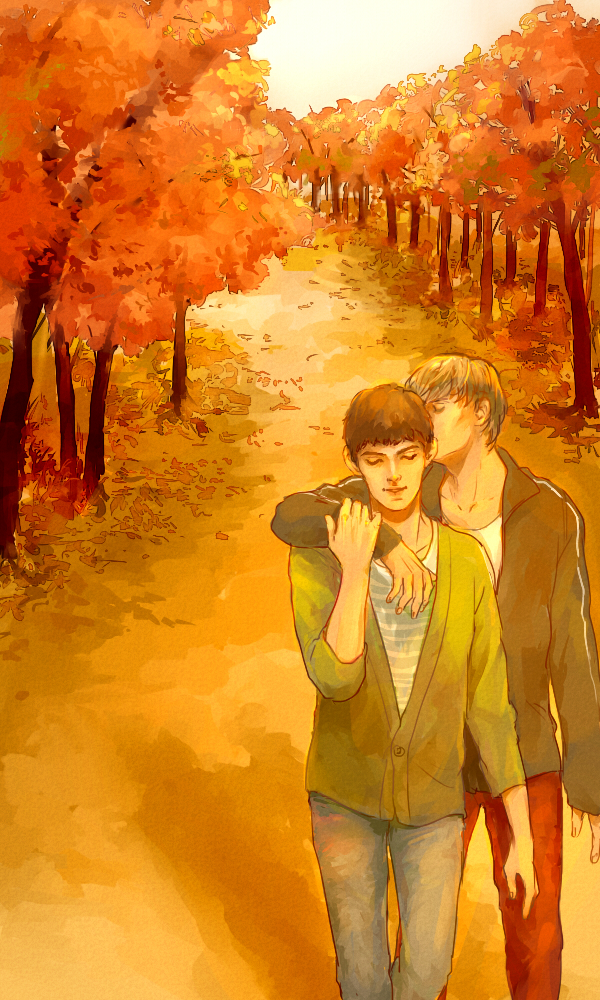 Modern day Merthur by mformadness