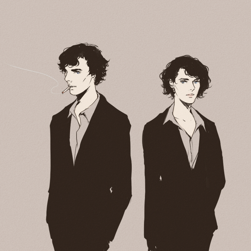 sherlock and femlock by mformadness