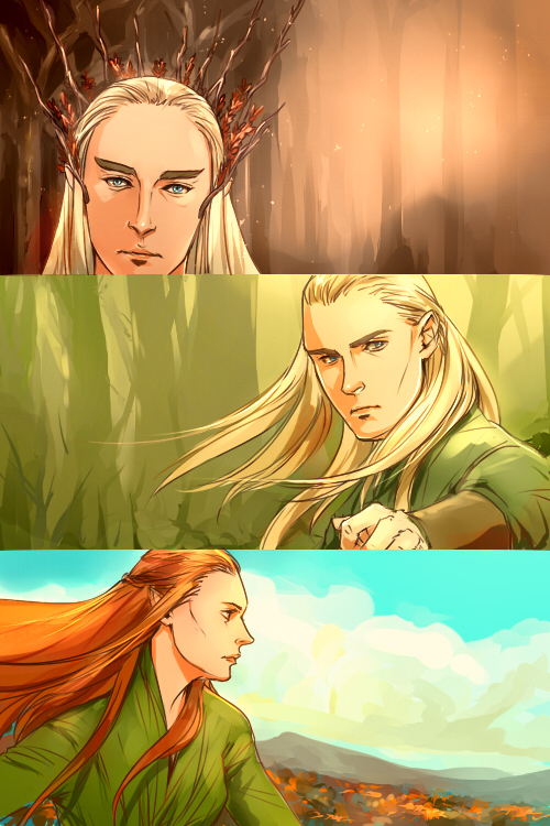 Elves picspam by mformadness
