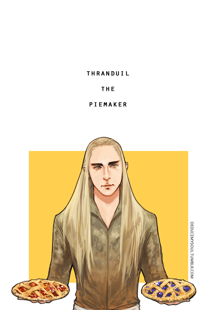 Thranduil the Piemaker by mformadness